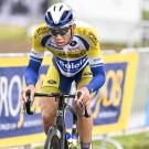 Kenneth Van Rooy uit Gelrode was een van de streekrenners die mee kleur gaf aan de finale van de GP Vermarc in Rotselaar.