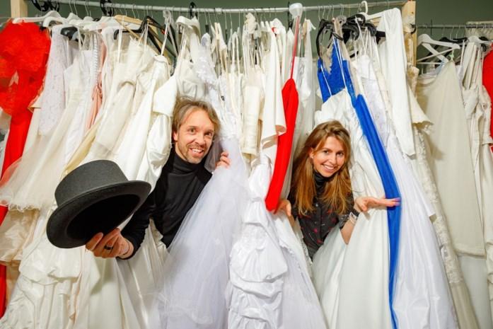 Voor 50 euro kan je hier ook eens 'blind' trouwen
