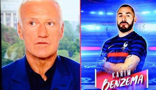 """Benzema krijgt vergiffenis: Franse bondscoach zet """"persoonlijke gevoelens"""" opzij in ruil voor goals"""