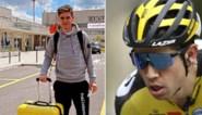 """Wout van Aert na operatie nu toch richting Spanje vertrokken: """"Ik had wat vertraging"""""""