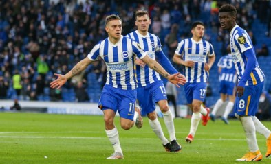 Trossard zet met knappe goal Brighton op weg naar stuntzege tegen Manchester City: van 0-2 naar 3-2