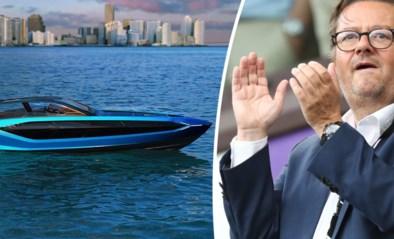 Marc Coucke gooit zich op luxejachten en gaat in zee met Giorgio Armani