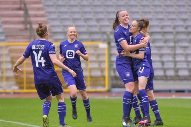 Kampioen Anderlecht dient vrouwen van Standard zware 2-7 nederlaag toe, Tessa Wullaert scoort hattrick
