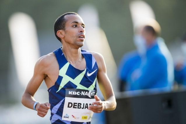 Ismael Debjani doet met zevende plaats in Ostrava op 1.500 meter goede zaak richting Tokio