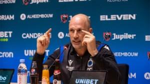 """Philippe Clement en Club Brugge krijgen vanavond hun eerste matchpunt in Anderlecht: """"Mijn relatie met Hans Vanaken is onaangetast"""""""