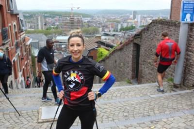 Wereldrecord: Zonhovense loopt 240 keer de beroemde Luikse trappen op en af