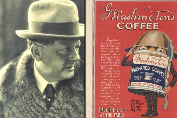 George Washington is geboren in een lingeriewinkel in Kortrijk: niet de president, wel de uitvinder van oploskoffie