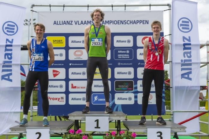 """Gedroomde comeback voor Giebe Algoet: """"Gouden medaille totaal niet verwacht"""""""