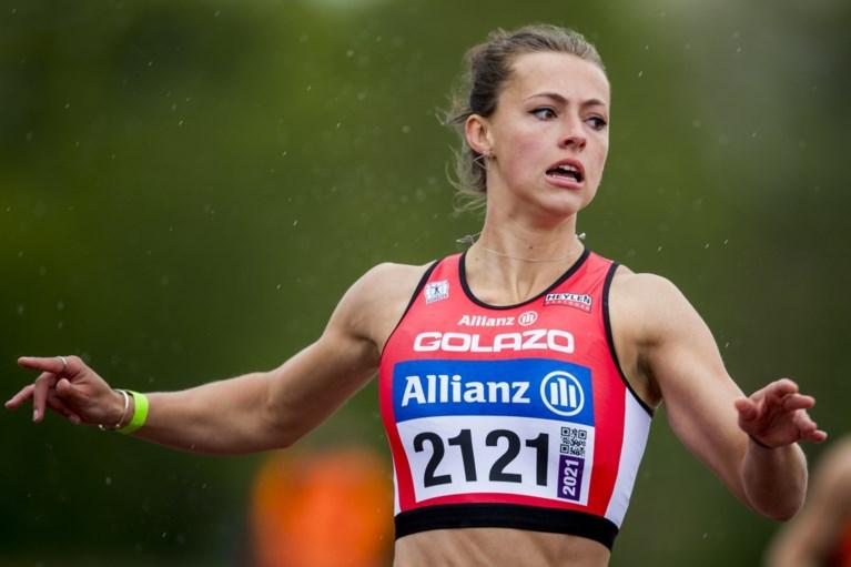 Nafi Thiam blijft bij verspringen ruim onder record tijdens eerste wedstrijd, Rani Rosius is baas op 200 meter