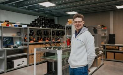 Van flesdopjes tot controllers: Gianni (24) print eigen droom in 3D uit