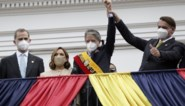 Guillermo Lasso ingehuldigd als president van Ecuador, in aanwezigheid van koning Felipe en Bolsonaro