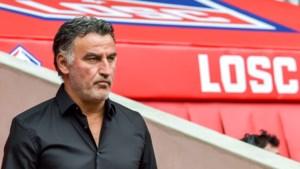 Coach Christophe Galtier kondigt twee dagen na landstitel afscheid aan bij Rijsel