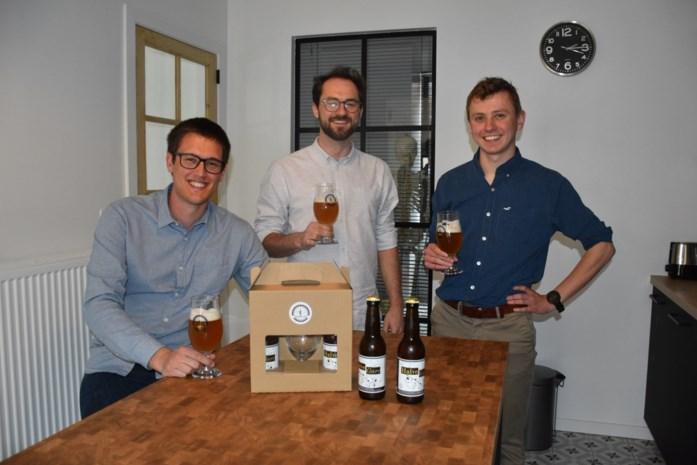 """Vrienden Nathan, Jeroen en Gilles starten Brouwerij 9900: """"Wij willen Eeklo opnieuw op de bierkaart zetten"""""""