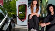 Wagen stond klaar om verkocht te worden, maar bewindvoerster stak er stokje voor: Tesla van partner Sihame El Kaouakibi in beslag genomen
