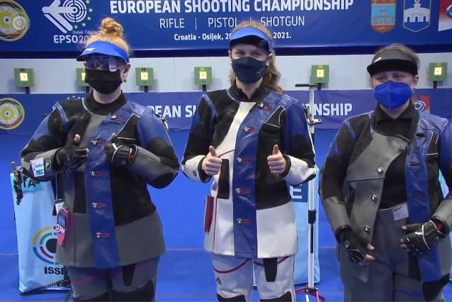Nog een Belg naar de Olympische Spelen: Jessie Kaps behaalt zilver op EK schieten en mag naar Tokio