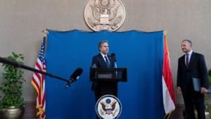 Amerikaanse buitenlandminister Blinken ontmoet Egyptische president Al-Sisi