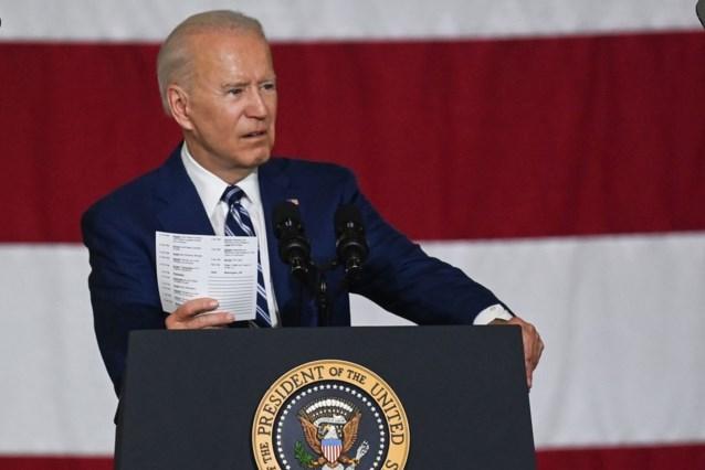 """President Biden wil Amerikaanse economie """"heruitvinden"""" met ambitieuze begroting van 6.000 miljard dollar"""