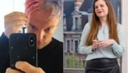 Gluren bij BV's: Jitske Van de Veire springlevend in zwarte lingerie, Astrid Stockman zit strak in het pak