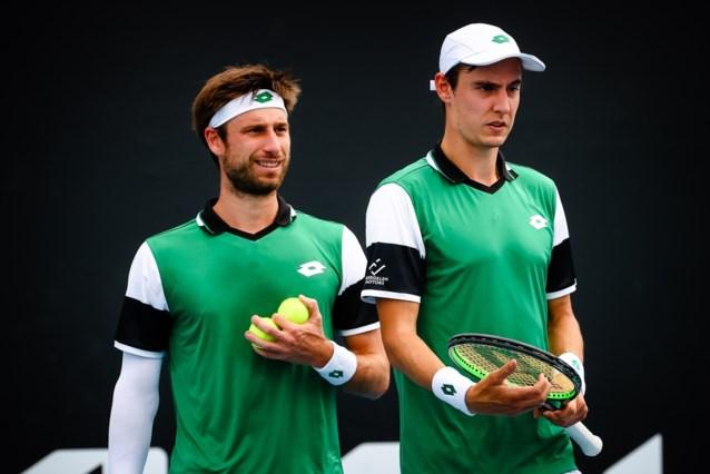 Sander Gillé en Joran Vliegen stranden in halve finales in ATP-toernooi Madrid