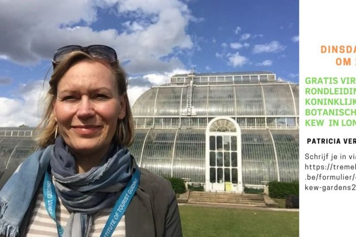Virtuele rondleiding door de Koninklijke Botanische Tuinen van Kew in Londen