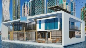 Gloednieuw drijvend luxeresort onderweg naar Dubai