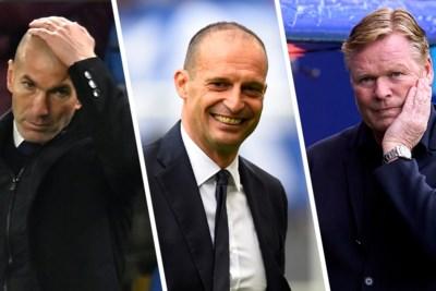 Trainerscarrousel op komst bij Europese topclubs: wie zien we waar volgend seizoen?