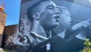 Youri Tielemans vereeuwigd op gigantisch muurschilderij op steenworp van Lotto Park