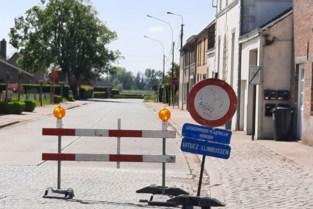 Geen doorgaand verkeer in twee straten door werken