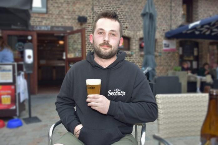 """Secondje van Fozzie De Clerck (20) is ideale dorstlesser: """"De naam van mijn bier bedacht ik al vier jaar geleden"""""""