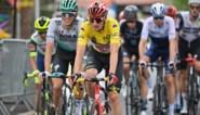 """Brent Van Moer verliest al zijn truien op col van tweede categorie: """"Ik kreeg wel de felicitaties van Froome, Thomas en Valverde"""""""