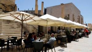 Malta kleurt groen op kaart met reisbestemmingen