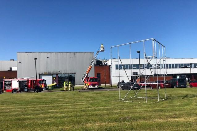 Vuur snel onder controle bij industriële bakkerij op Lammerdries