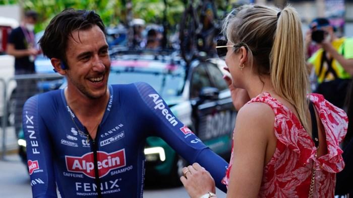 "Strijdlustige Dries De Bondt bekoort ook tifosi in succesvolle Giro: ""Veel steun uit onverwachte hoek"""