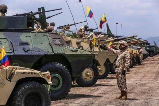Acht ontvoerde Venezolaanse militairen bevrijd