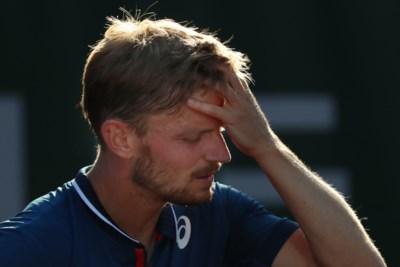 """Wat een domper: David Goffin opnieuw in eerste ronde van Roland Garros uitgeschakeld: """"Ik weet het niet meer"""""""