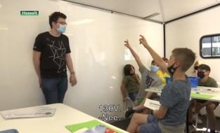 Leerlingen testen nieuwe workshops PXL STEM Academy uit