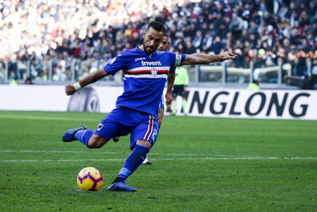 Onvermoeibare Fabio Quagliarella verlengt contract bij Sampdoria