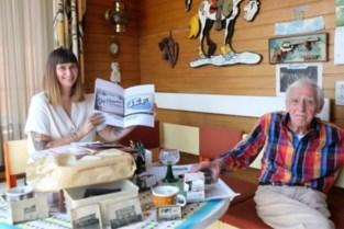 Letterschilder Jef is 91 en plots via Instagram geëerd in alle hoeken van de wereld