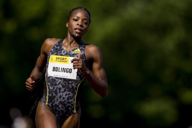 """Cynthia Bolingo verpulvert record van Kim Gevaert op 400 meter en kwalificeert zich voor Olympische Spelen: """"Cool!"""""""
