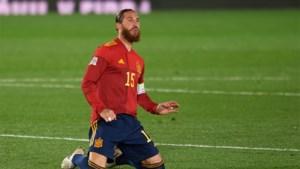 Spanje neemt Sergio Ramos niet mee naar het EK voetbal, geen enkele speler van Real in de selectie