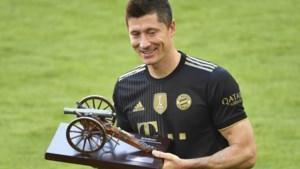 Robert Lewandowski is Speler van het Seizoen volgens collega's in Bundesliga
