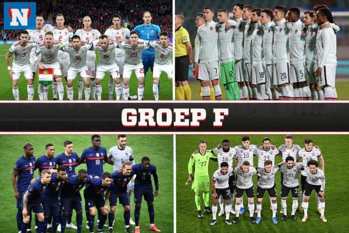 Het EK voorgesteld. Groep F: Zwaarste groep in de geschiedenis … en een zwak broertje dat als enige in een vol stadion mag spelen