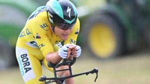 "Lukas Pöstlberger realiseert mission impossible in Critérium du Dauphiné : ""Het is alsof geel je vleugels geeft"""