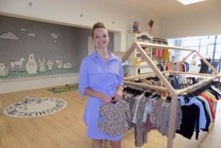 Shanty opent eigen kinderkledingwinkel in voormalige interieurzaak