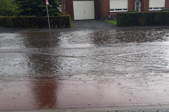 Gigantische wateroverlast in Haacht en Boortmeerbeek: brandweer krijgt meer dan honderd meldingen binnen