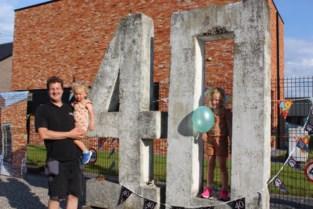 Cadeautje voor 40ste verjaardag: uw leeftijd in gewapend beton