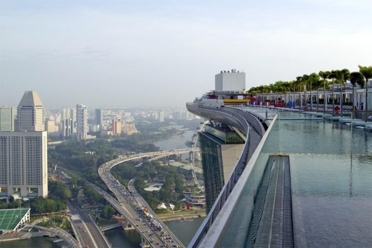 In een balkon en op drie torens: vijf keer spectaculair zwemmen