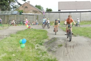 Bewoners leggen fietsparcours aan