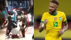 Nu moet Neymar ook al naast het veld tackles ontwijken: dolenthousiaste fans vloeren Braziliaanse superster