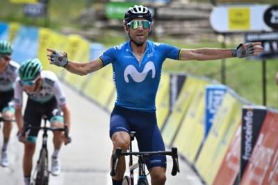 """Alejando Valverde is op zijn 41ste (!) zowaar aan zijn vierde jeugd toe: """"Fantastisch dat ik dit nog kan"""""""